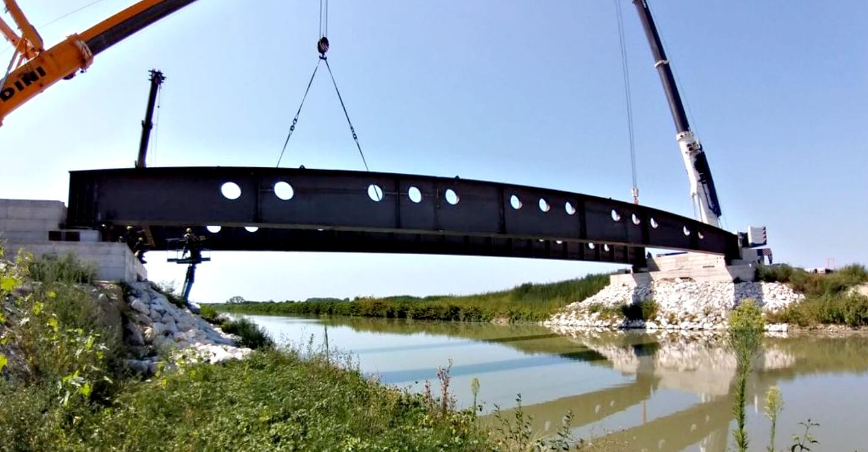 Realizzazione del Ponte Madonna – Fiscaglia (FE)